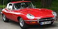 Jaguar E-Type Jerry Cotton Film Spielfahrzeug
